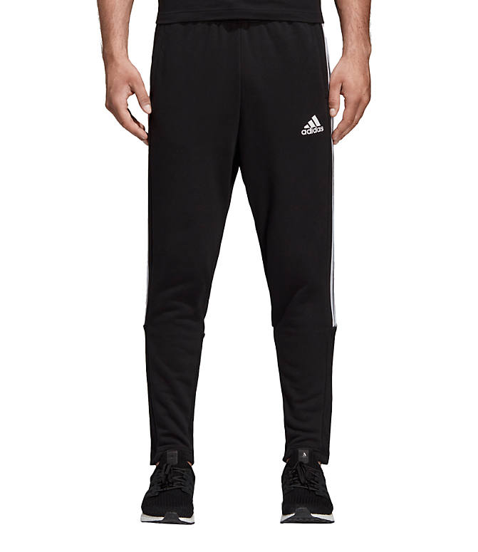 cce3831f09d Front view of Men's adidas Must Haves 3-Stripe Tiro Pants in Black/White