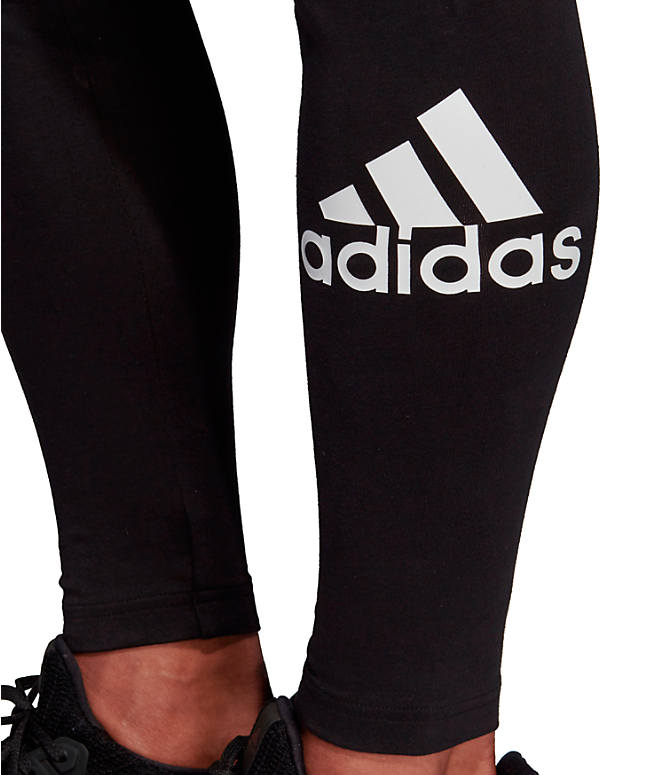 Detail 1 view of Women's adidas Badge Of Sport Must-Haves Training Leggings in Black/White