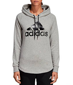 Women s adidas Badge Of Sport Must-Haves Pullover Hoodie e53f983a4e