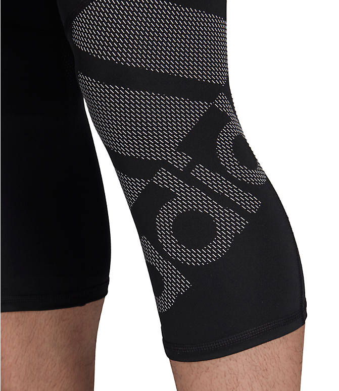 Detail 1 view of Men's adidas Alphaskin BOS 3/4 Tights in Black
