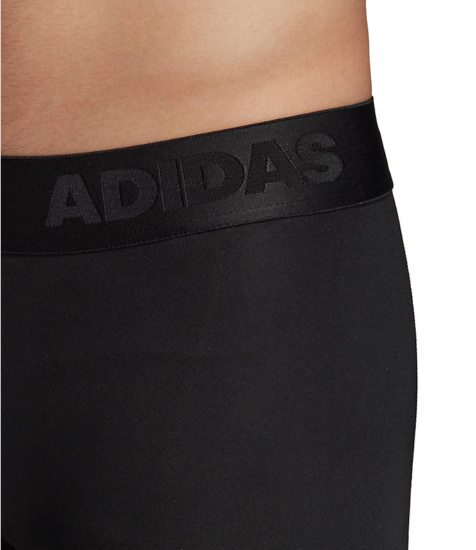Detail 2 view of Men's adidas Alphaskin BOS 3/4 Tights in Black