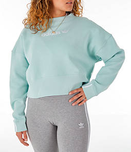 Women's adidas Originals Coeeze Cropped Sweatshirt