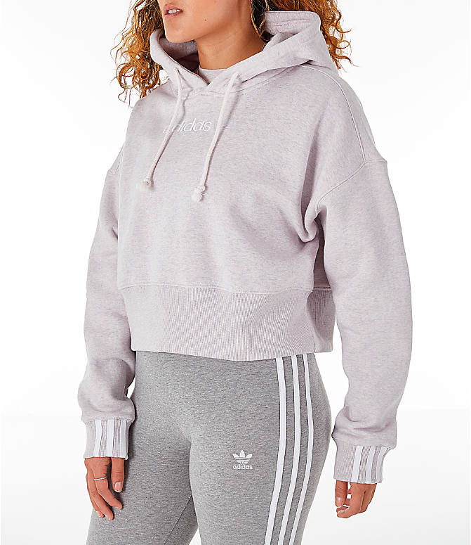Women's Adidas Originals Coeeze Cropped Hoodie by Adidas