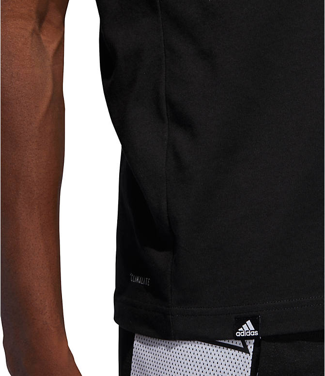 Detail 2 view of Men's adidas Harden Verb Graphic T-Shirt in Black