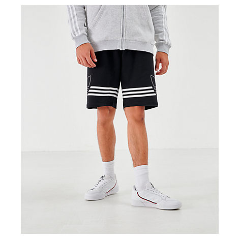 858c44c89b04 Men's Originals Outline Shorts, Black - Size Xxlrg