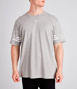 Men's adidas Originals Trefoil Outline Logo T-Shirt