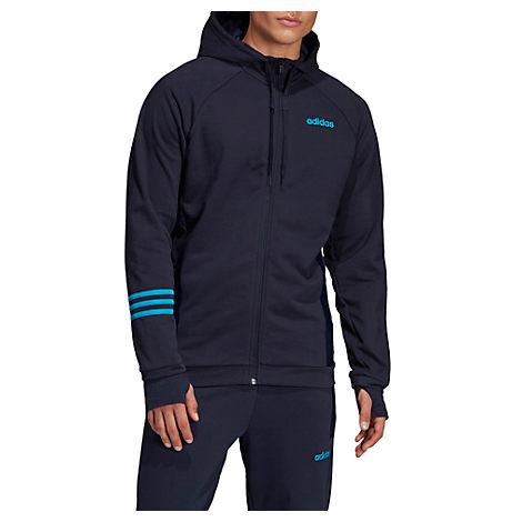 Shop Adidas Originals Blue Jacket