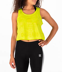 Women's adidas Originals Tie Dye Crop Tank