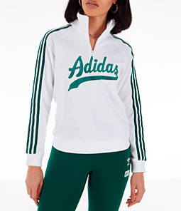 Women's adidas Originals Stripe Out Half-Zip Sweatshirt