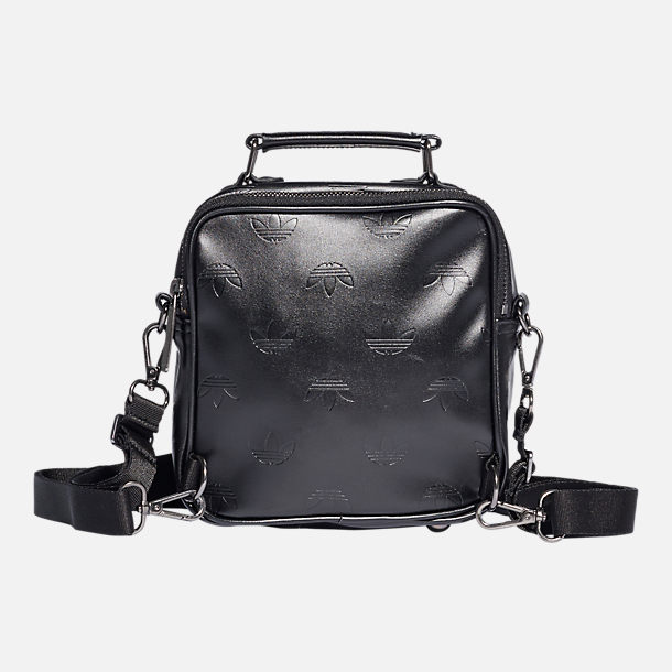 Back view of adidas Originals Mini Airliner Bag in Black