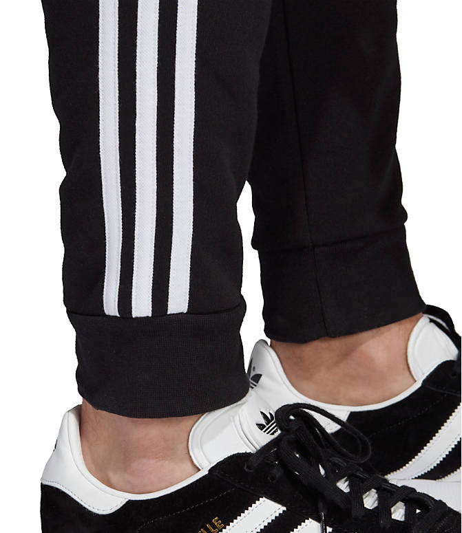 Detail 2 view of Men's adidas Originals 3-Stripe Pants in Black