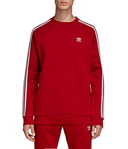 Men's adidas Originals 3-Stripes Crew Sweatshirt