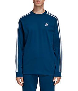Men's adidas 3-Stripe Long Sleeve T-Shirt