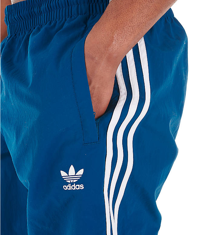 63973531b489e Detail 1 view of Men's adidas Originals 3-Stripes Swim Shorts in Legend  Marine