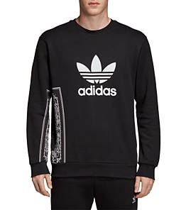 Men's adidas Originals Bandana Trefoil Crewneck Sweatshirt