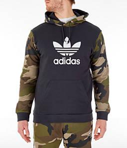Men's adidas Originals Camo Trefoil Hoodie