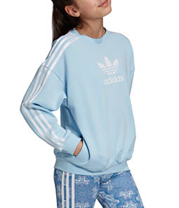 Little Girls' adidas Originals Culture Clash Crewneck Sweatshirt