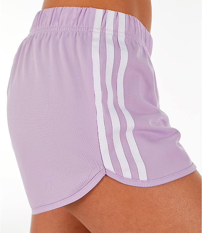 061c41f203fa Detail 2 view of Women's adidas Originals 3-Stripes Shorts in Purple Glow