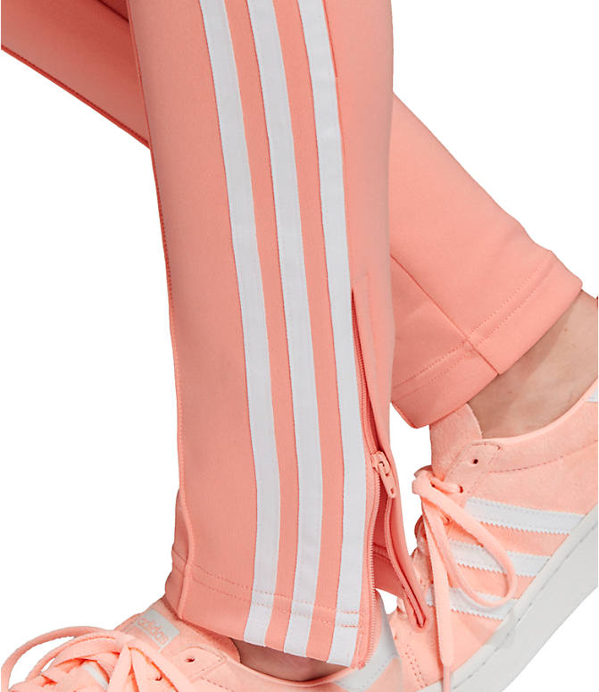 Detail 3 view of Women's adidas Originals Superstar Track Pants in Dust Pink