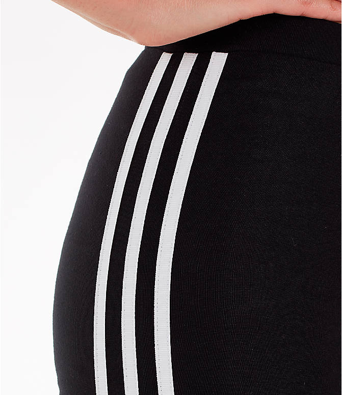 Detail 1 view of Women's adidas Originals Bike Shorts in Black/White