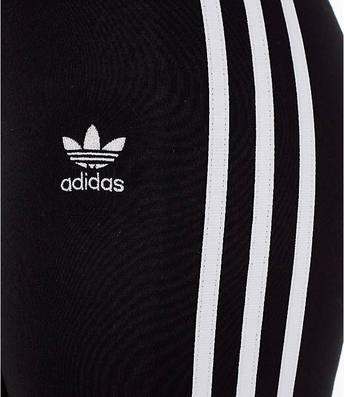 Detail 2 view of Women's adidas Originals Bike Shorts in Black/White