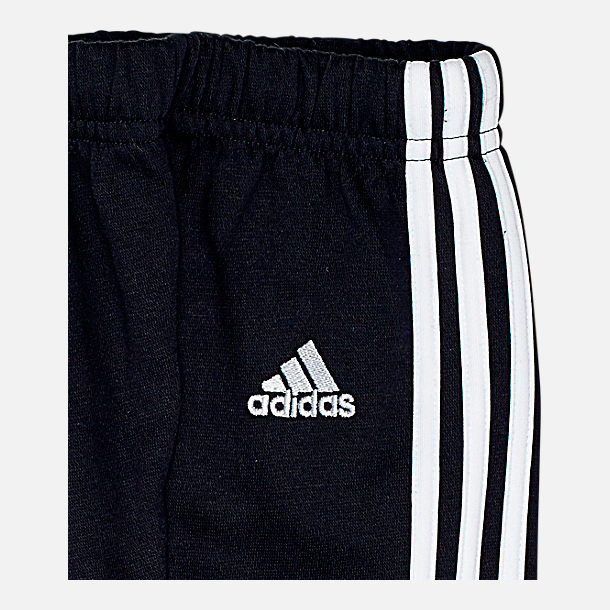 Alternate view of Infant and Toddler adidas Originals Radkin Hoodie Set in Black