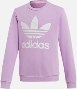 Girls' adidas Originals Trefoil Crew Sweatshirt