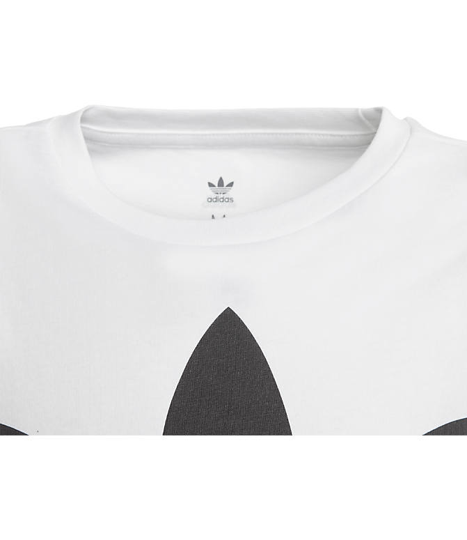 Product 4 view of Kids' adidas Originals Trefoil T-Shirt in White/Black