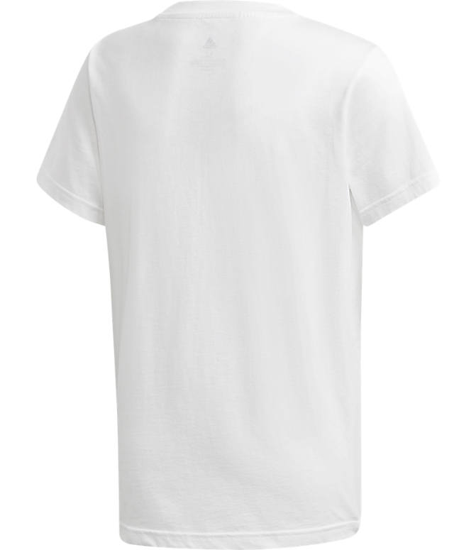 Product 5 view of Kids' adidas Originals Trefoil T-Shirt in White/Black