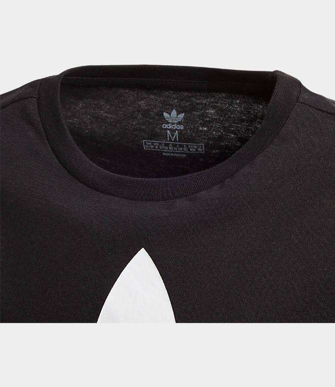 ADIDAS MEN'S ORIGINALS Trefoil T Shirt Orange DU0358