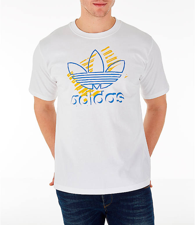Detail 2 view of Men's adidas Originals Trefoil Sketch T-Shirt