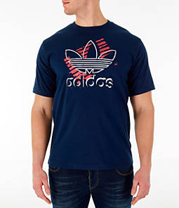 Men's adidas Originals Trefoil Sketch T-Shirt