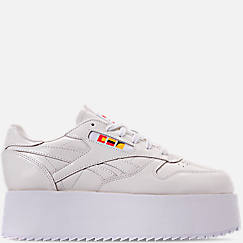 Women's Reebok x Gigi Hadid Classic Leather Triple Platform Casual Shoes