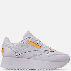 Women's Reebok x Gigi Hadid Classic Leather Double Casual Shoes