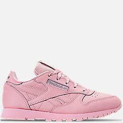 f0da079466e Girls  Little Kids  Reebok Classic Leather Casual Shoes