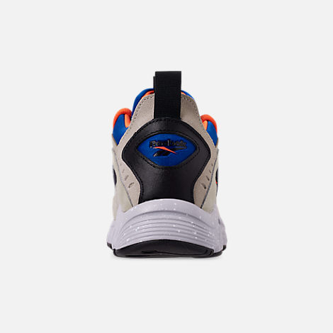 Back view of Men's Reebok DMX 1200 Casual Shoes in Parchment/Royal/Grey/Lava/White