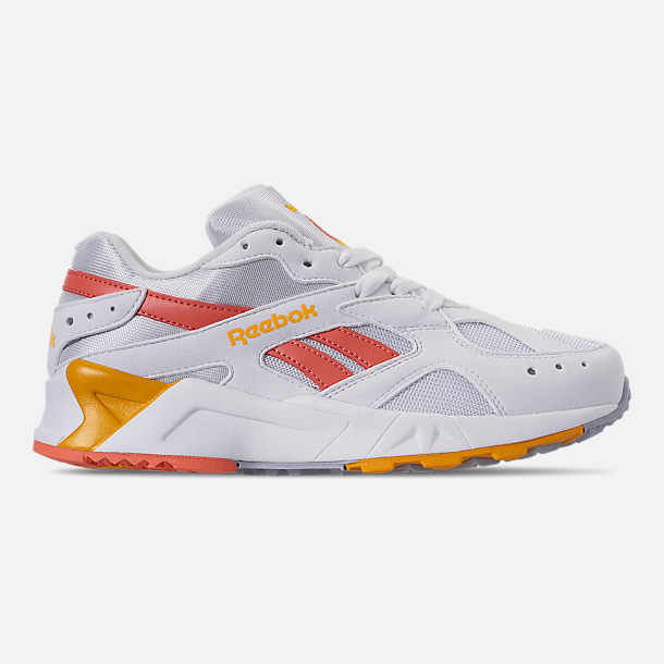 Right view of Women's Reebok Classics Aztrek Casual Shoes in Bright Pop/Stellar Pink/Gold