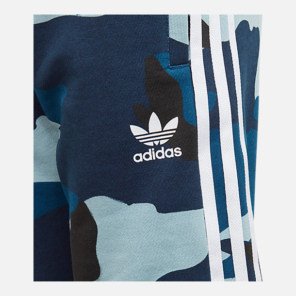 Alternate view of Boys' adidas Originals Camo Shorts in Blue Camo
