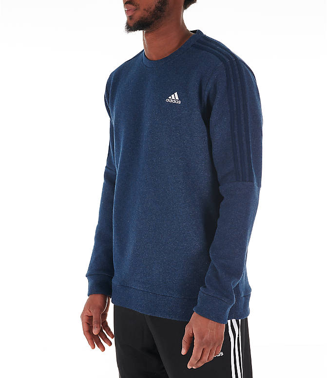 ce69cb8a82 Men's adidas Essentials 3-Stripe Crewneck Sweatshirt