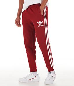 Men's adidas Originals 3-Stripes California Fleece Track Pants