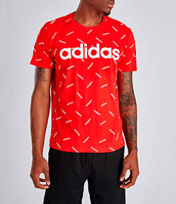 Men's adidas Essentials Allover Print Graphic T-Shirt