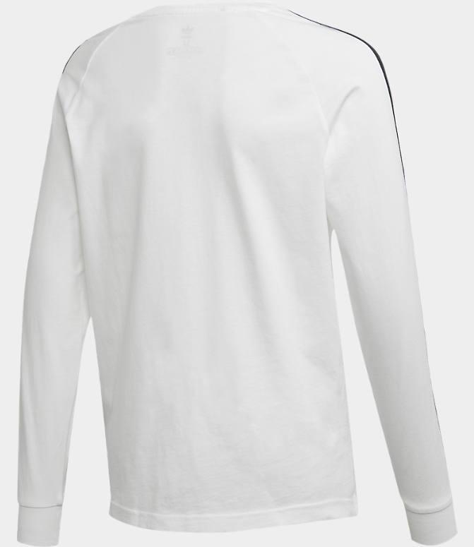 Kids' adidas Originals 3 Stripe Long Sleeve T Shirt