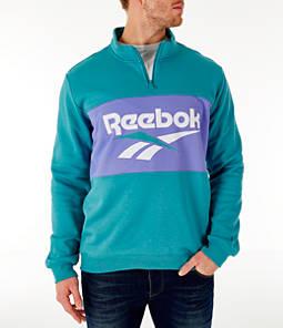 Men's Reebok Classic Vector Quarter-Zip Sweatshirt
