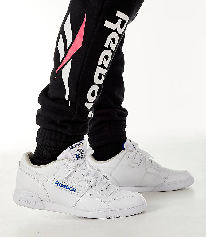 Detail 2 view of Men's Reebok Classic Vector Jogger Pants in Black