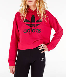 Women's adidas Originals Leoflage Crop Hoodie