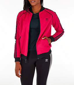 Women's adidas Originals LEOFLAGE SST Track Jacket