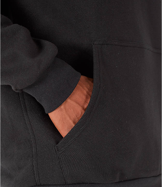 Detail 2 view of Men's adidas Originals Planetoid Hoodie in Black