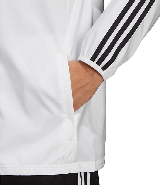 Detail 2 view of Men's adidas Tiro Windbreaker Jacket in White/Black