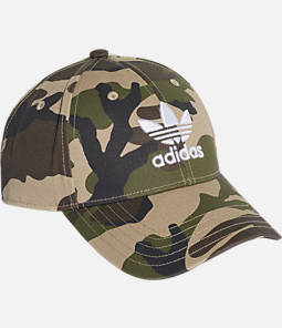 adidas Originals Classic Camo Trefoil Adjustable Hat