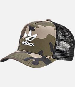 adidas Originals Curved Visor Trucker Hat